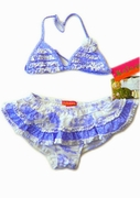 Kate-Mack*Cote D'azur* Swim Skirted 2PC
