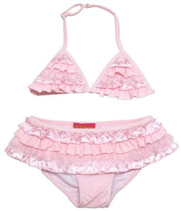 Kate Mack *Dipped in Ruffels* Swim Suit - 2pc-Sizes 4-6x Left Only!
