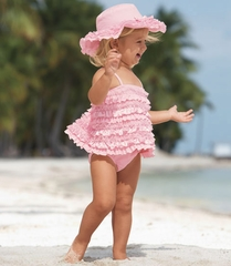 Kate Mack *Dipped in Ruffles* Tankini Swim Suit