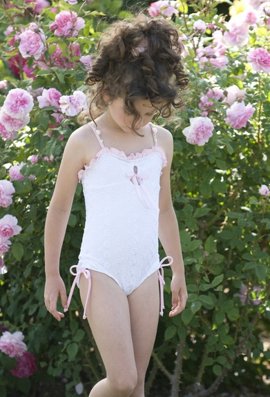 Kate Mack *Eyelet Sweetie* Swim Wear- SIZE 3T ONLY!