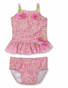 Kate Mack *Field Of Flowers* 2PC Tankini -Size 3m- 24m