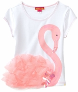 Kate Mack *Flamingo Fun* Summer Shirt- Sizes 4 to 6x