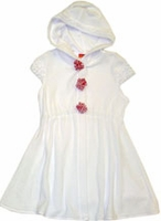 "Kate Mack ""Fourth Of July"" White Terry Coverup 2t&3t only"