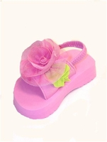 Kate Mack Hula Rose Toddler Girl Sandals (Pink)