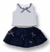 Kate Mack*'Madeleine* Top and Skirt 12m