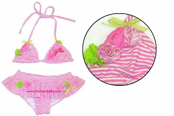 Kate Mack *Pepermint Rose*  2pc- Size 6