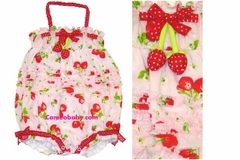 Kate Mack *Strawberry Fileds Bow* Baby Clothing -Size 3m Only!