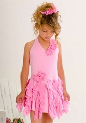 Kate Mack  *Summer Petals* Girls Pink -Size14