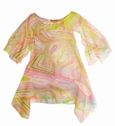 Kate Mack 'Venetian Glass'Tunic Dress/Cover-up