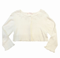 Kate Mack White Spring Cardigan S-L