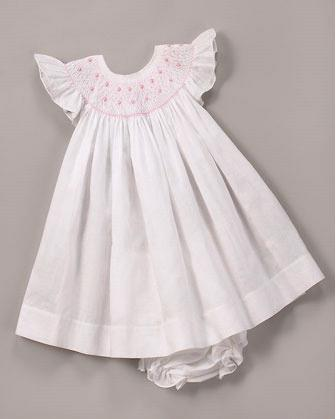 Kissy Kissy- Angelica Bishop Dress- Size NB- 24m