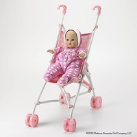"""Madame Alexander-Baby Goes for a Ride 14""""Baby and Stroller Set"""