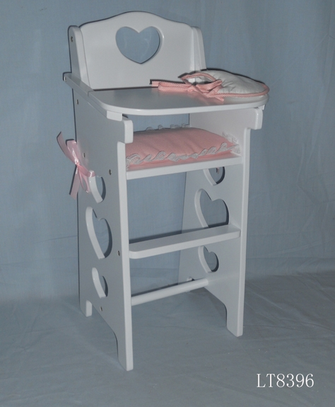 Penelope Doll High Chair-  with Accessories