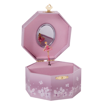 Pink Ballerina Jewelry Box