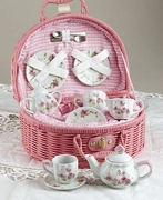 Pink Rose Tea Set