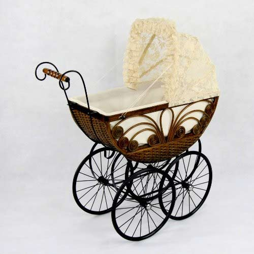 Caroline Doll Carriage-Heirloom Piece & Play