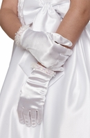 Us Angels Communion Satin Glove-Style G-7