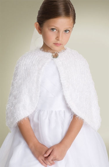 US Angels - Feathered Shrug