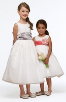 Us Angels Flower Girl *Organza 409* (A Custom Event)   Sizes 12m to 14-