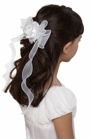 Us Angels - Organza Bow Barrette