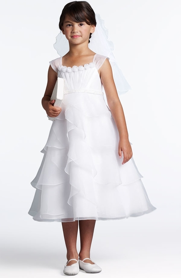 US Angels - Rosette Tier Dress