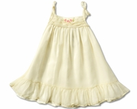 Victoria Kid's - Ivory Dress- Sizes 6M to 24M