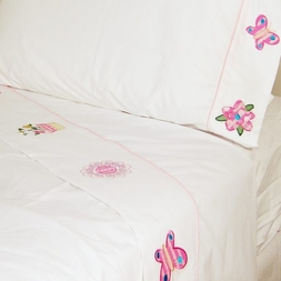 Annas Dream Pink Flower Sheets