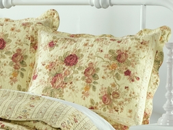 Antique Rose King Sham