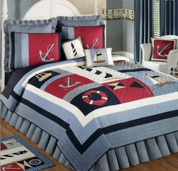 Atlantic Isle Nautical Quilt