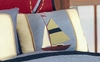 Atlantic Isle Sailboat Pillow