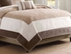 Attingham Brown & Ivory 7-Piece Coverlet Set