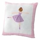 Ballerina Ballet Lessons Accent Pillow