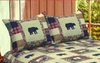Bear Medley Standard Sham (set of 2)