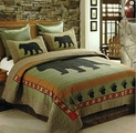 Black Bear Paw Quilt Set