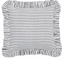 Black Ticking Stripe Josephine Pillow