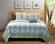 Bombay Blue Quilt Set