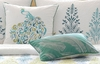 Bombay Peacock Pillow Set (two)