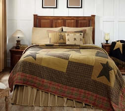 Stratton Rustic Star Cabin 3, 4 or 5 Piece VALUE Quilt Set