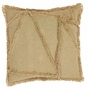 Burlap Natural Reverse Seam Accent Pillow