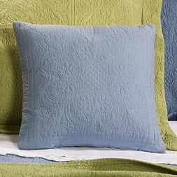 C&F Solid Color Matelasse Accent Pillow