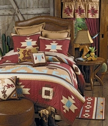 Canyon Dance Southwestern Quilt