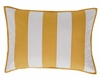 Catalina Quilted Yellow Stripe Standard Sham