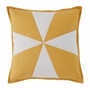 Catalina Yellow Star Quilted Pillow