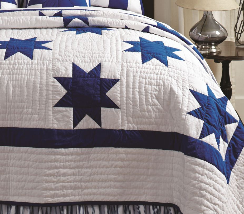 Blue Country Star Patch Quilt : country star quilt - Adamdwight.com
