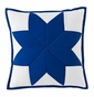Chesapeake Blue Star Quilted Pillow