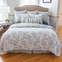 Clementina Dusk Blue 5 or 7-Piece Quilt Set by Williamsburg