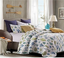 Coastal Dreams Beach Quilt Set