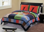 Skateboard Cool Skate Quilt Set