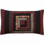 Cumberland Lodge Red Plaid KING SHAM