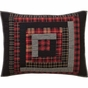 Cumberland Lodge Red Plaid STANDARD SHAM